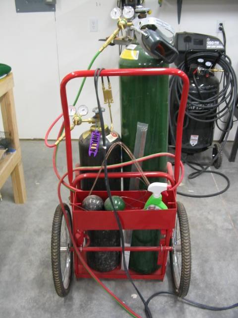 Stol king weldinginfo for Harbor freight fishing cart
